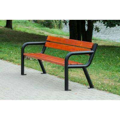 ławki parkowe metalowe