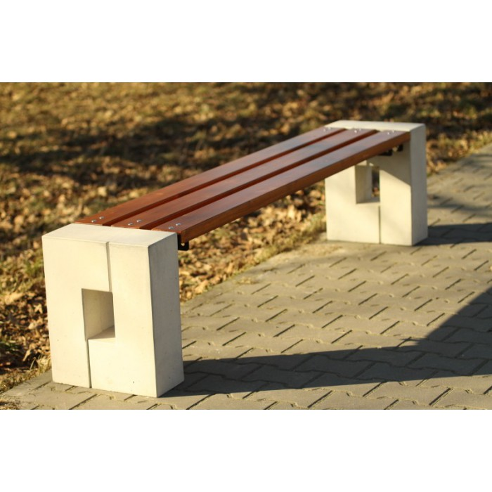 ławki betonowe