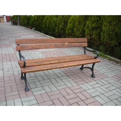 ławka parkowa żeliwna