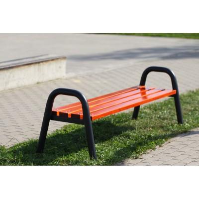 Nowoczesna ławka parkowa,...
