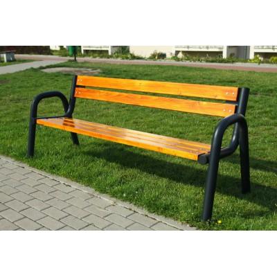 Wygodna, duża ławka...