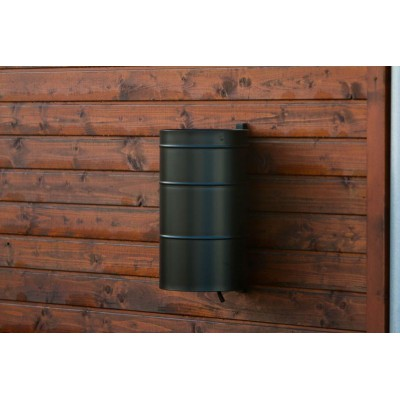 kosz na śmieci zawieszany na mur