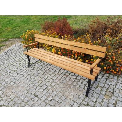 ławeczka stalowa do parku