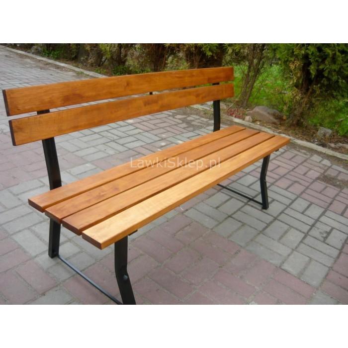 Fantastyczny Stalowa ławeczka do ogrodu lub parku 180 cm 6ds 22Msv LS12