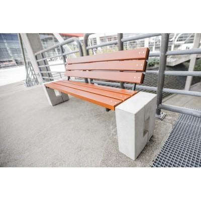 Ławka parkowa betonowa Ro-Bis