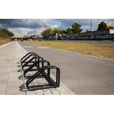 nowoczesny parking rowerowy