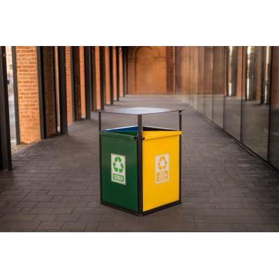 Kosz do segregacji odpadów...