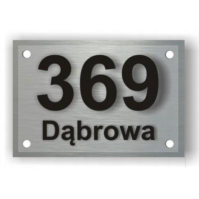 Tabliczka z adresem na dom...